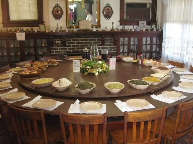 Large Round Dining Table Seats 10 – Foter | Tables | Pinterest Throughout Huge Round Dining Tables (Image 17 of 25)