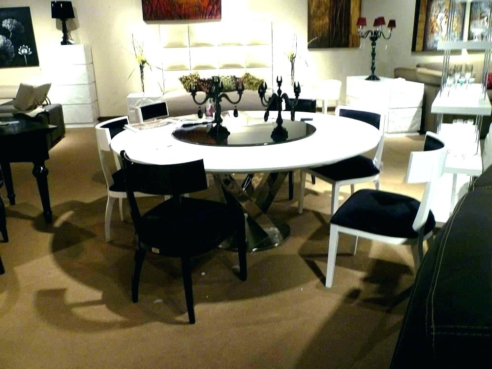 Large Round Dining Table Seats 8 Large Round Dining Tables Round Within Huge Round Dining Tables (Image 18 of 25)