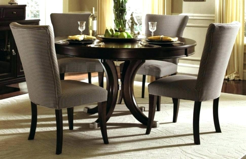 Large Round Dining Table Set Dining Tables Remarkable Large Round For Extendable Round Dining Tables Sets (Image 15 of 25)