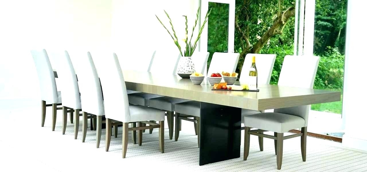 Large Round Extending Dining Table Walnut Best Extendable Seats 14 In Extending Dining Tables With 14 Seats (Image 18 of 25)