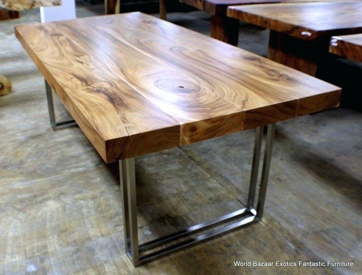 Large Round Reclaimed Wood Dining Table Console Coffee Tasteful Room For Oval Reclaimed Wood Dining Tables (View 8 of 25)