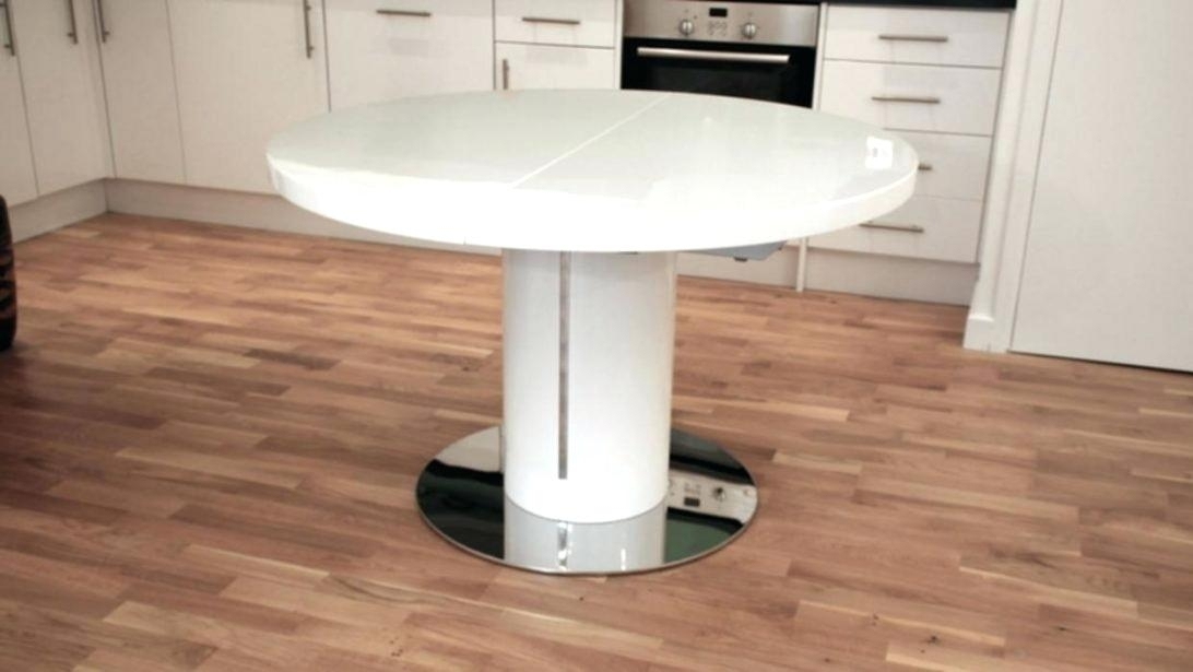 Large Size Of Rustic Round Extendable Dining Table White Extending Intended For Glass Round Extending Dining Tables (Image 13 of 25)