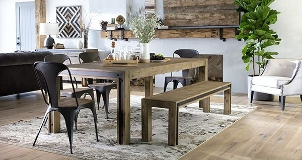 Latest + Greatest! | Villa Sonoma – Living Spaces Email Archive In Amos 6 Piece Extension Dining Sets (View 4 of 25)