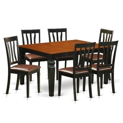 Lätt Bockbord Att Bygga, Rundstav Som Fixerar Planken, Lät Intended For Caira 7 Piece Rectangular Dining Sets With Diamond Back Side Chairs (View 20 of 25)