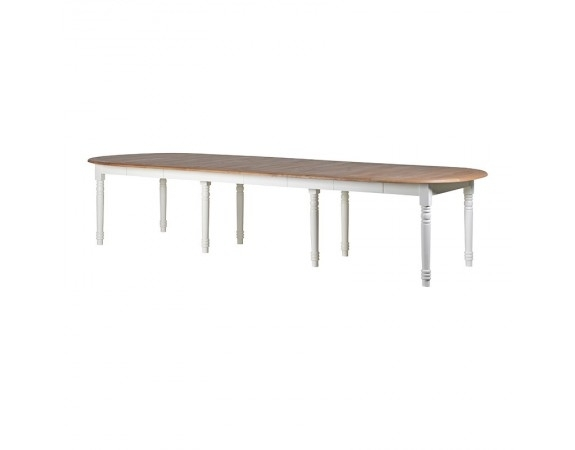 Laurent Extending Dining Table | French Laurent Extending Dining In Laurent Rectangle Dining Tables (Image 12 of 25)