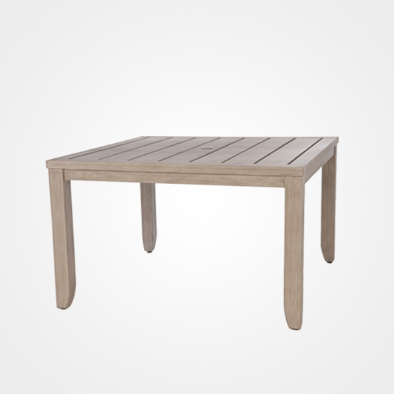 Laurent/napoli Square Dining Table – Outdoor Furniture – Ellenburgs Regarding Laurent Rectangle Dining Tables (Image 18 of 25)