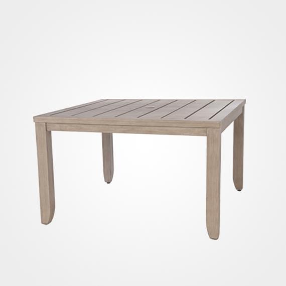 Laurent/napoli Square Dining Table – Outdoor Furniture – Ellenburgs Regarding Laurent Rectangle Dining Tables (Image 18 of 25)