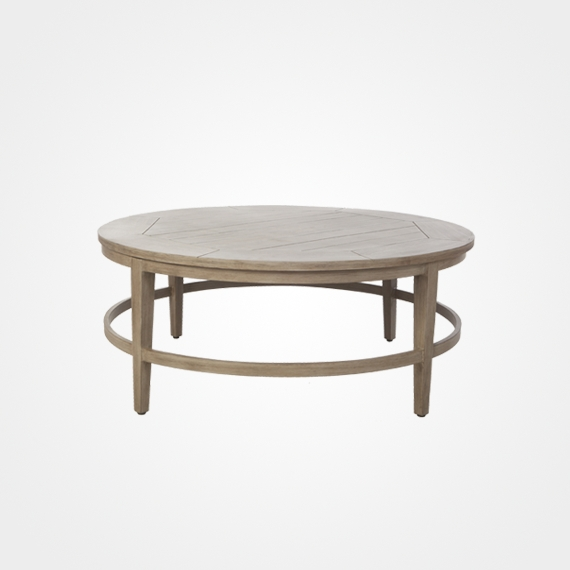 Laurent/portofino Round Dining Table – Outdoor Furniture – Ellenburgs Intended For Laurent Round Dining Tables (View 14 of 25)