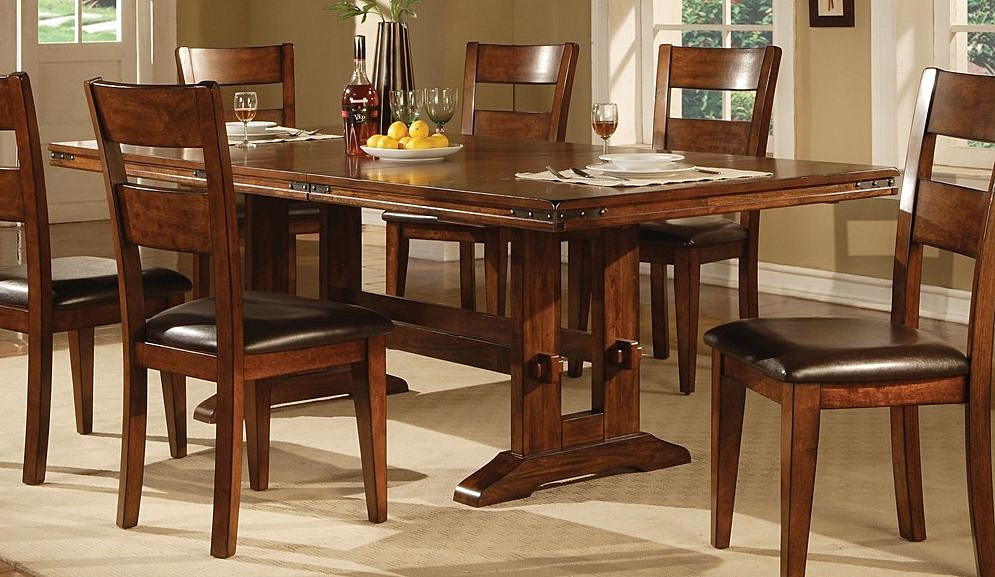 Lavista Dining Table In Dark Oak | Dining Tables For Solid Dark Wood Dining Tables (Image 18 of 25)