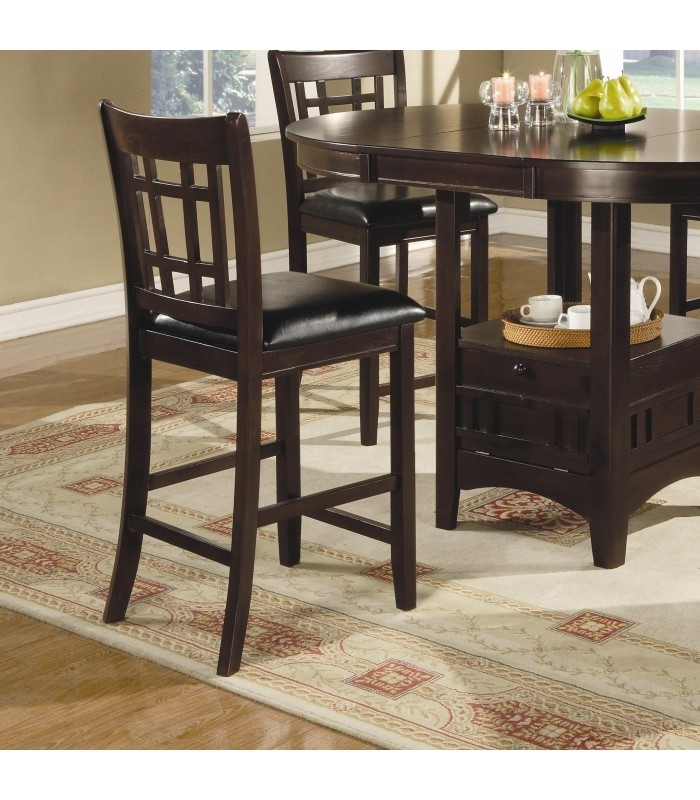 Lavon 5 Piece Counter Table And Chair Set – Maranatha Furniture Intended For Norwood 9 Piece Rectangle Extension Dining Sets (View 23 of 25)