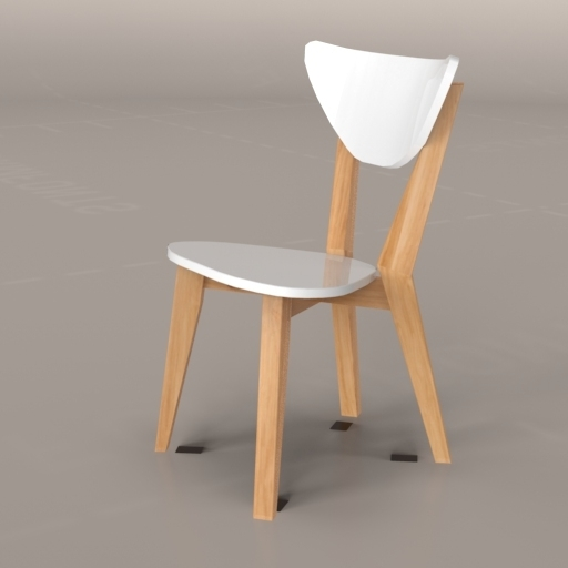 Lazio Dining Set 3D Model – Formfonts 3D Models & Textures With Regard To Lazio Dining Tables (Image 12 of 25)