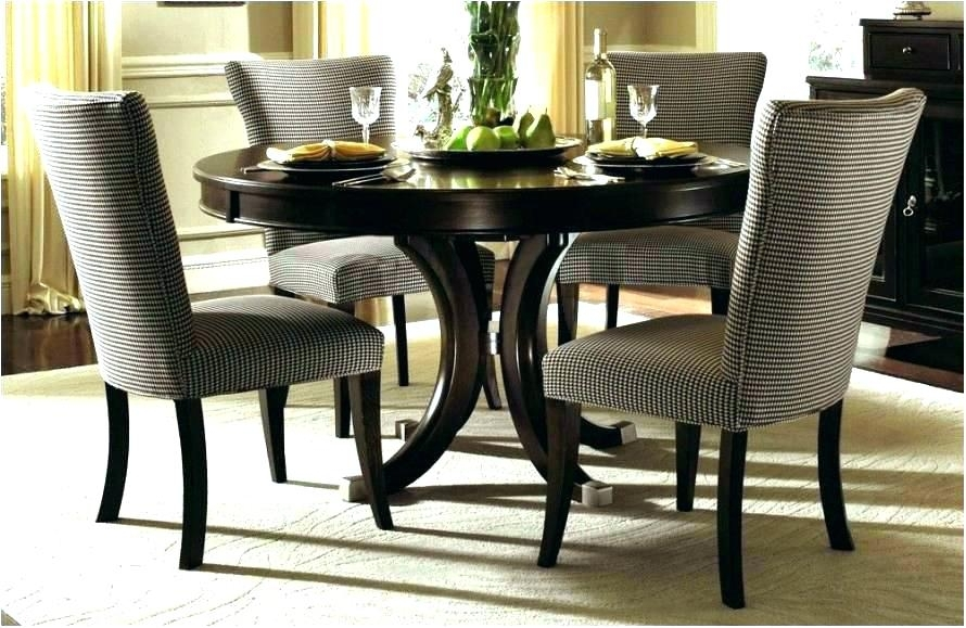 Leaf Round Dining Room Sets With Leaf Round Di 28880 Intended For Extendable Round Dining Tables Sets (Image 16 of 25)