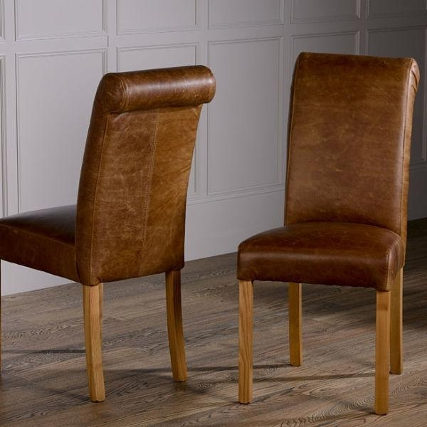 Leather Dining Chair And Its Benefits – Bestartisticinteriors In Brown Leather Dining Chairs (View 25 of 25)