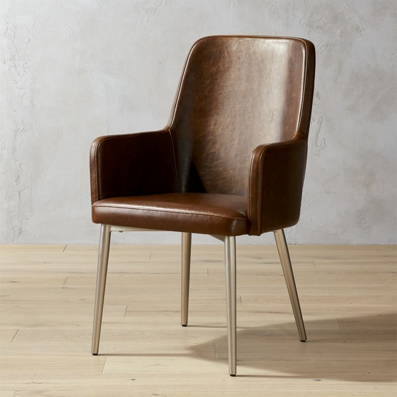 Featured Photo of Leather Dining Chairs