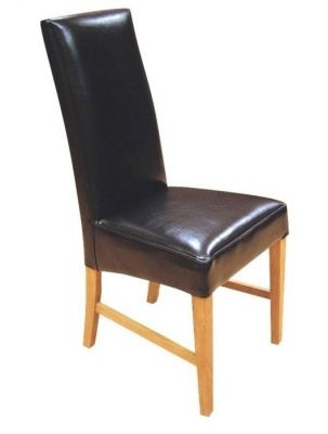 Leather Dining Chairs From Teh Tetlow Range – Cafe Reality Pertaining To Real Leather Dining Chairs (Image 4 of 25)