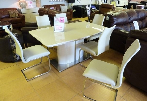 Leather Sofa Company – Dining Furniture Details Intended For Cream Gloss Dining Tables And Chairs (Image 18 of 25)