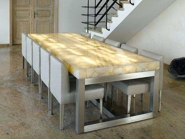 Led Dining Table Led Dining White Led Dining Table – Blogaisya In Dining Tables With Led Lights (Image 15 of 25)
