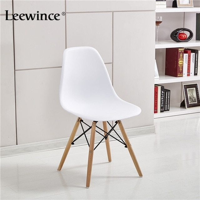 Leewince Fashion Dining Chairs Simple Plastic Creative Leisure With Stylish Dining Chairs (Image 12 of 25)