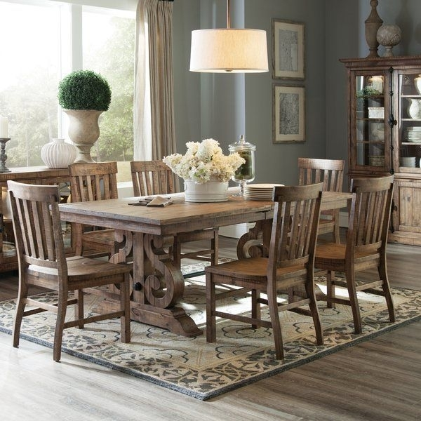 Lend A Touch Of Artisanal Inspiration To Your Dining Arrangement For Artisanal Dining Tables (Image 17 of 25)