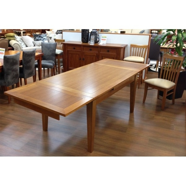 Leon Extension Dining Table Large Regarding Leon Dining Tables (Image 10 of 25)