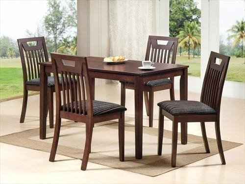 Leon Rubber Wood Wooden Dining Table, Rs 10000 /set, Adinath In Leon Dining Tables (Image 15 of 25)