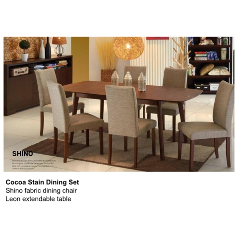 Leon Shino Cocoa Dining Set | My Plan | Pinterest | Dining, Dining Within Leon 7 Piece Dining Sets (View 10 of 25)