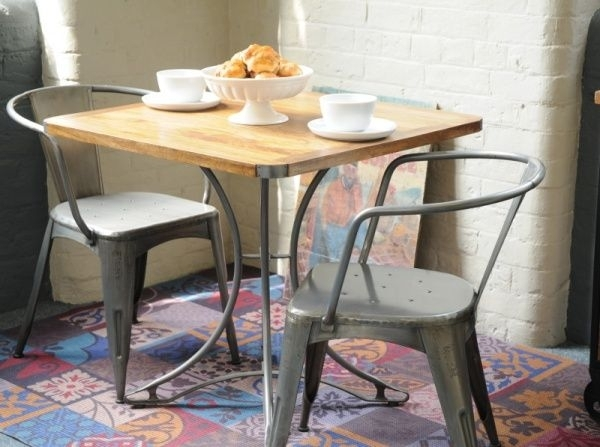 Leon Square Dining Table | Industrial Furniture | Modern Dining Room For Leon Dining Tables (View 18 of 25)
