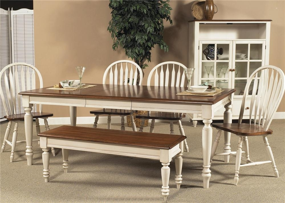 Liberty Furniture Low Country Rectangular Dining Table With Turned Intended For Country Dining Tables (Image 16 of 25)