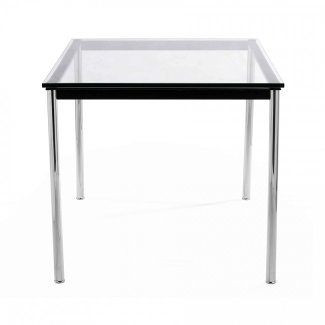 Life Interiors Dubai | Carly Tempered Glass Dining Table Within Carly Rectangle Dining Tables (Image 19 of 25)