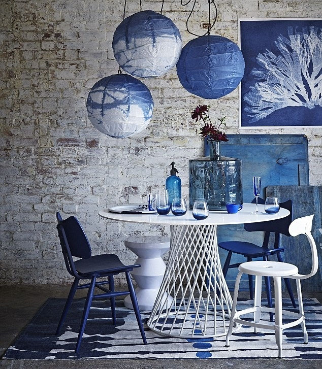 Lifestyle: Think Inky | Daily Mail Online Within Bale 6 Piece Dining Sets With Dom Side Chairs (View 19 of 26)