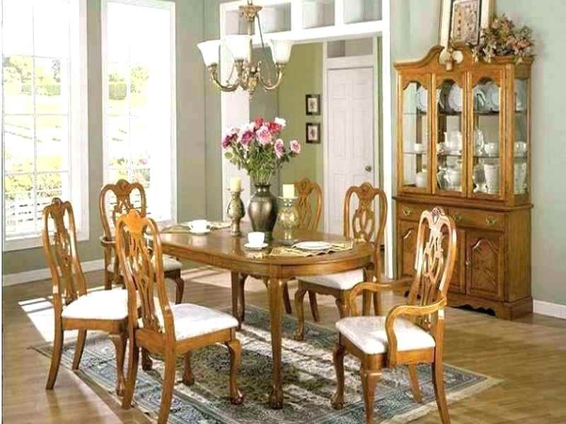 Light Oak Upholstered Dining Room Chairs Set Sets Used Surprising R With Regard To Light Oak Dining Tables And Chairs (Image 15 of 25)