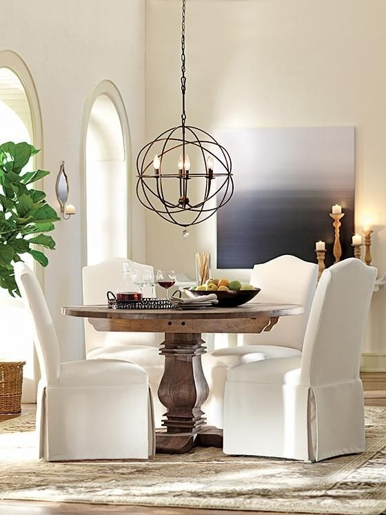 Light Small Round Kitchen Table – Google Search | Kitchen Lighting With Regard To Helms 5 Piece Round Dining Sets With Side Chairs (View 13 of 25)