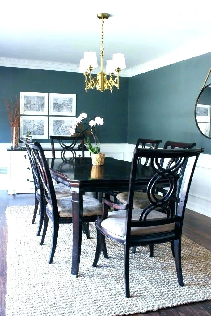 Light Wood Dining Room Furniture Black Wood Dining Table Light Wood With Regard To Dark Wood Dining Room Furniture (Image 21 of 25)