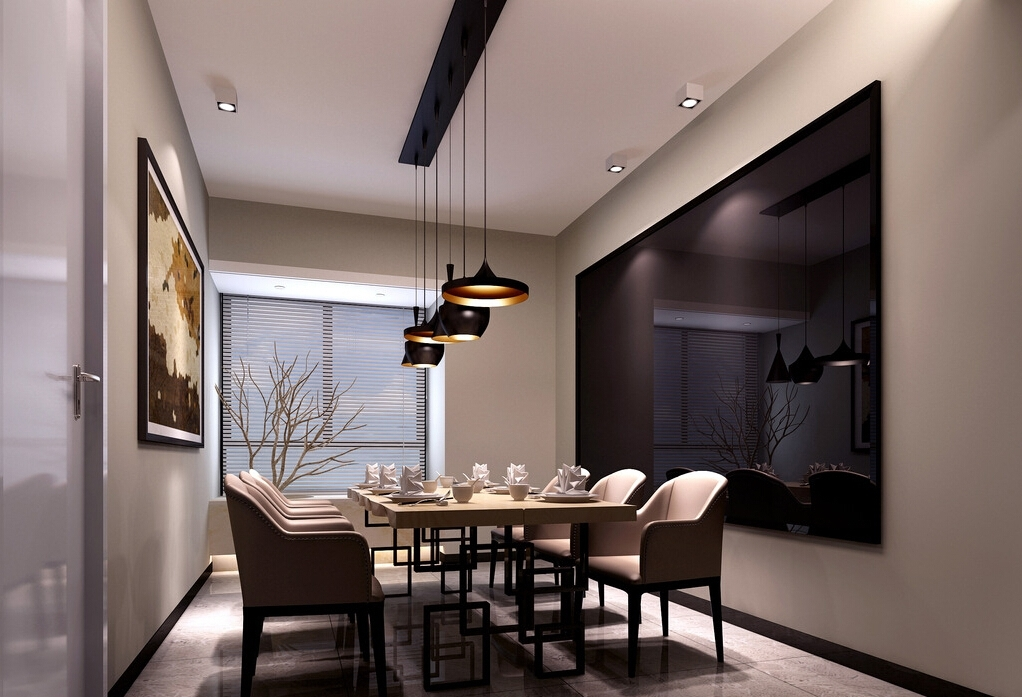Lighting Tips: How To Light A Dining Area Pertaining To Dining Tables Ceiling Lights (Image 18 of 25)