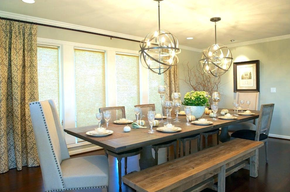 Lights Above Dining Table – Skugphotography With Dining Lights Above Dining Tables (View 5 of 25)