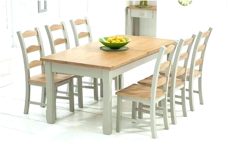 Likable Light Oak Dining Table Set Tables And Chairs Extending 8 Within Light Oak Dining Tables And Chairs (Image 17 of 25)