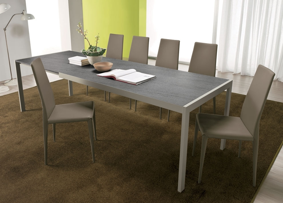 Lima Extending Dining Table – Contemporary Extending Dining Tables Inside Contemporary Extending Dining Tables (Image 16 of 25)