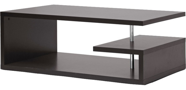 Lindy Modern Coffee Table – Contemporary – Coffee Tables Hedgeapple In Lindy Espresso Rectangle Dining Tables (View 8 of 25)