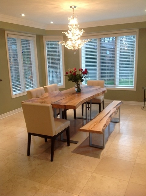 Live Edge Dining Room Table Harvest Table, Wood Slab Tables – Arts Within Tree Dining Tables (View 21 of 25)