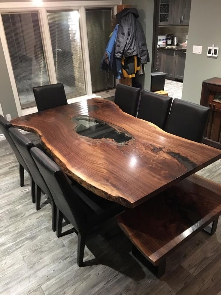 Live Edge Table, Single Slab Table, Mappa Table, Burl Table, Wood Within Tree Dining Tables (Image 12 of 25)