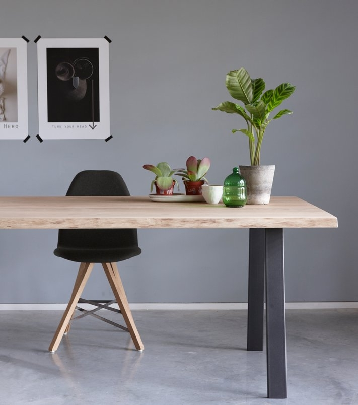 Living On The Edge: Live Edge Dining Tables Are Gorgeous In London Dining Tables (Image 14 of 25)
