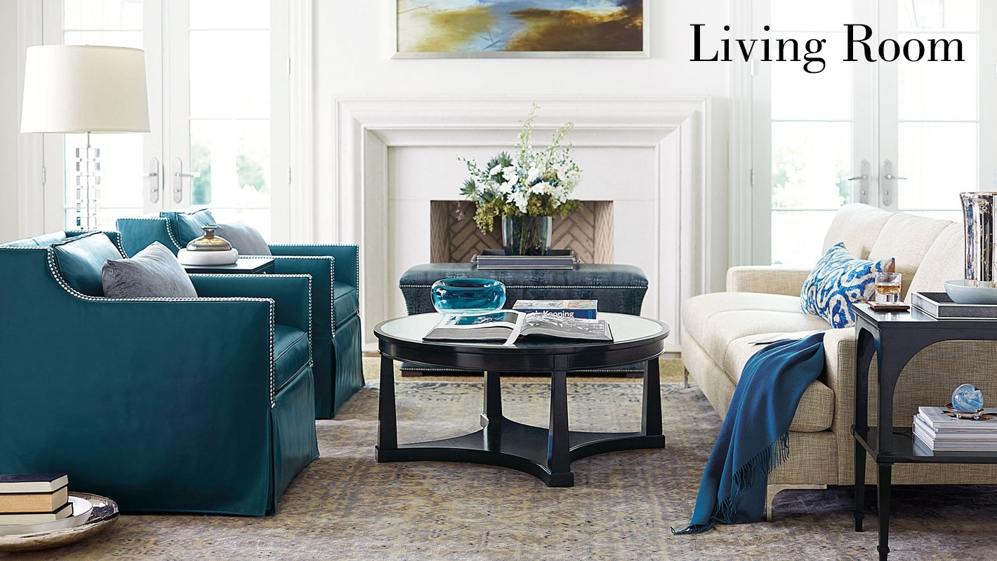 Living Room | Bernhardt For Norfolk Grey 6 Piece Sectionals With Laf Chaise (Image 11 of 25)