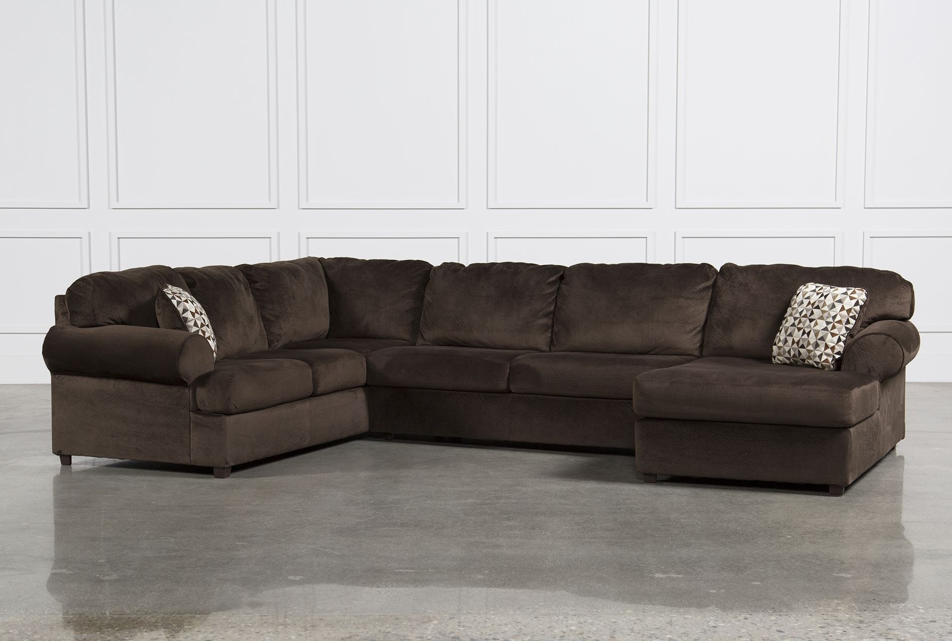 Living Room: Elegant Ashley Leather Sectional Sofa For Comfortable Inside Lucy Grey 2 Piece Sleeper Sectionals With Raf Chaise (View 12 of 25)