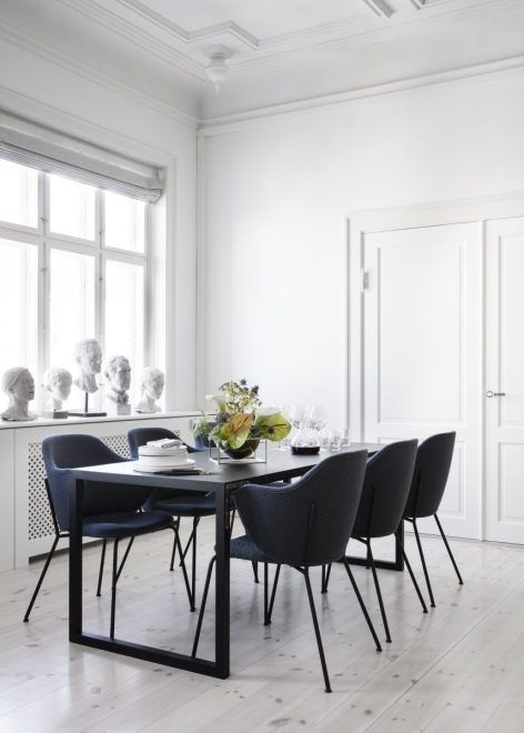 Living Room : Lassen Chair In New Finishes Via Coco Lapine Design Pertaining To Lassen Round Dining Tables (Image 14 of 25)