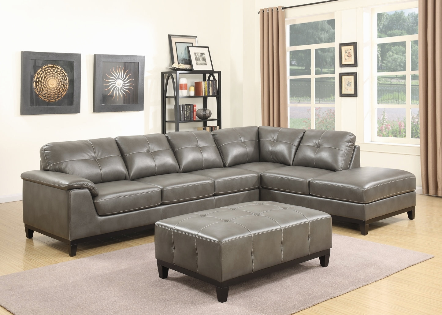 Living Room Sofa With Chaise Beautiful Trent Austin Design Lonato Pertaining To Aquarius Light Grey 2 Piece Sectionals With Raf Chaise (View 16 of 25)