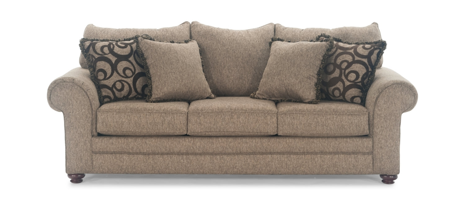 Living Space Sofa – Home And Textiles Inside Aquarius Dark Grey 2 Piece Sectionals With Raf Chaise (Image 9 of 25)