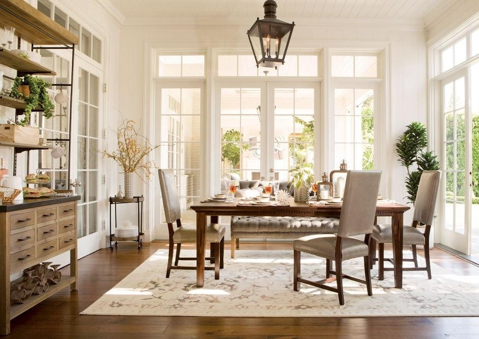 Living Spaces Dining Room Sets – Ecoexperienciaselsalvador For Chapleau Extension Dining Tables (Image 19 of 25)