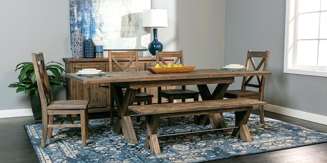 Living Spaces Dining Room Sets Kitchen Room Design Dining Room Inside Mallard 6 Piece Extension Dining Sets (Image 14 of 25)