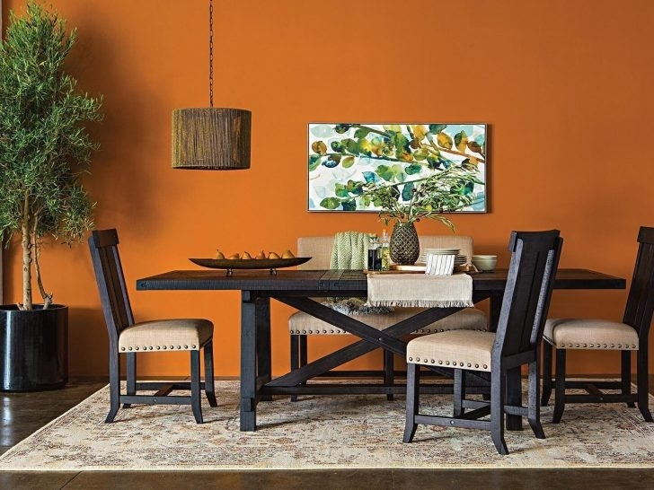 Living Spaces Dining Room Tables #43891 | Forazhouse For Jaxon Extension Rectangle Dining Tables (Image 17 of 25)