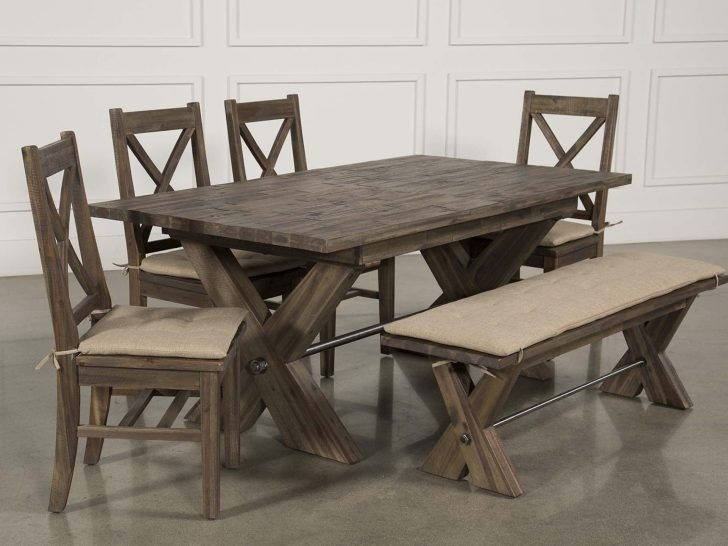 Living Spaces Dining Room Tables #43891 | Forazhouse Regarding Mallard 6 Piece Extension Dining Sets (Image 15 of 25)